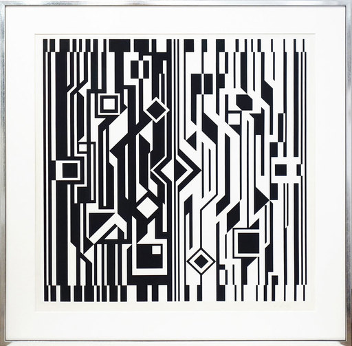 Victor VASARELY - Print-Multiple - Cinetique I