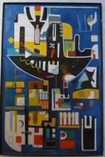 Abol ATIGHETCHI - Gemälde - PRIMITIF IV