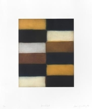 Sean SCULLY - Stampa Multiplo - Blue Fold