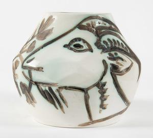 Pablo PICASSO - Céramique - Vase aux chèvres