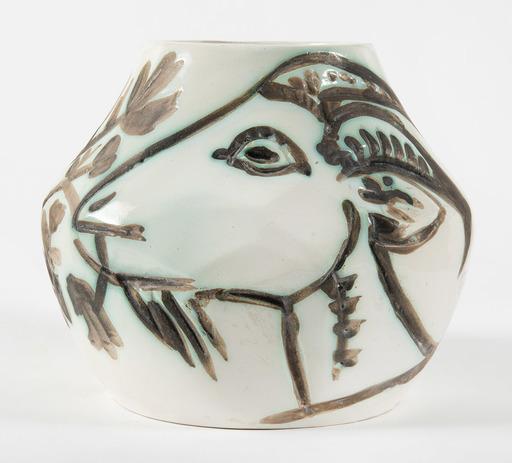 巴勃罗•毕加索 - 陶瓷  - Vase aux chèvres