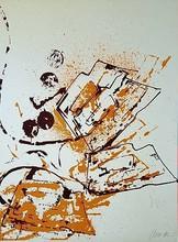 Fernandez ARMAN - Grabado - abstraction