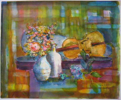 Tony AGOSTINI - Drawing-Watercolor - DESSIN À L'AQUARELLE SIGNÉ HANDSIGNED WATERCOLOR DRAWING