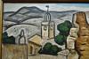 Alfred LESBROS - Painting - Paysage des Angles, près Avignon