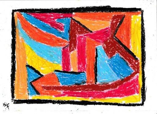 Harry BARTLETT FENNEY - Drawing-Watercolor - un bel di vedrema
