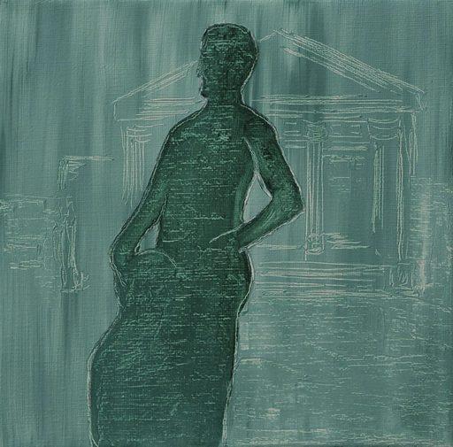 Martin AITKEN - Painting - « Antique »