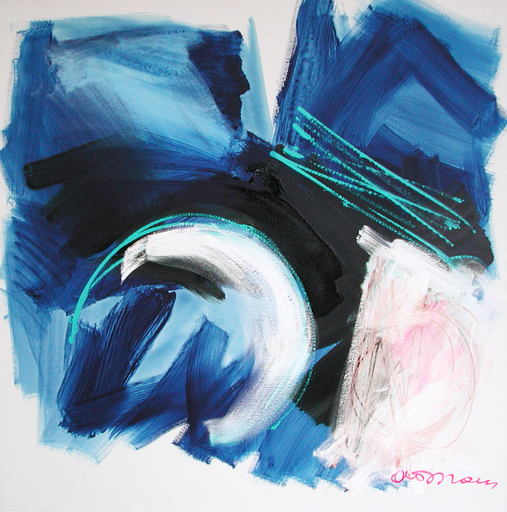 Antonio DEL DONNO - Pintura - Luce tra l'emisfero