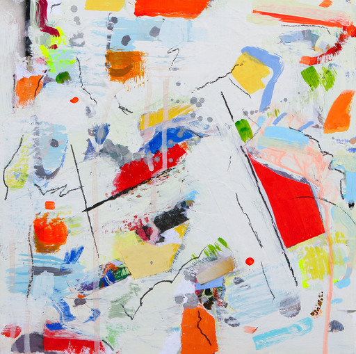 Gina WERFEL - Painting - Aerial View
