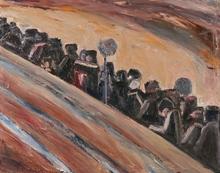 Lev Ilïïtch TABENKIN - Painting - Metro