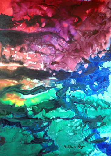 William LAGA - Peinture - Diptyque