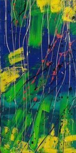 Marie Edmée SEGUIN - Painting - La Nuit Des Temps N°53
