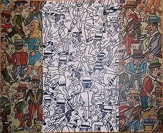 Antonio SEGUI - Peinture - Bandera