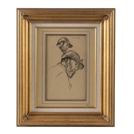 Edgar DEGAS - Grabado - Study of a Jockey (M. de Broutelles)