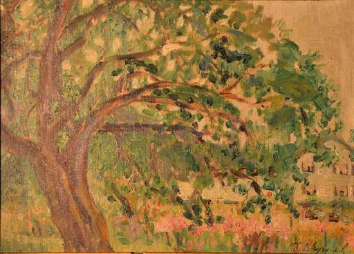 Tit Jokovlevic DVORNIKOV - Painting - Landscape