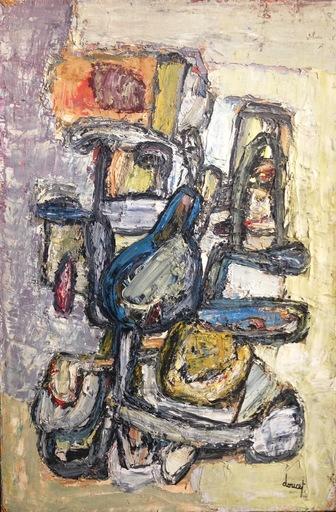 Jacques DOUCET - Pintura - Sans titre