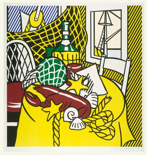 Roy LICHTENSTEIN - Stampa Multiplo - Still Life with Lobster