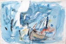 Mario RACITI - Drawing-Watercolor - Gesti d'ignoto