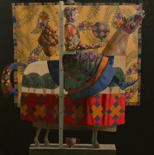 Bobur ISMOILOV - Pittura - A Pot for Narcissus