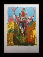 Salvador DALI - Print-Multiple - The Bullfighter (Golden Calf)
