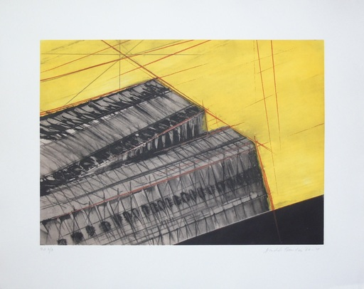Arnaldo POMODORO - Stampa-Multiplo - Composition