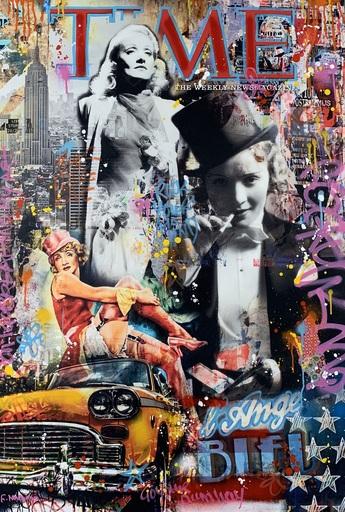 Fabien NOVARINO - Peinture - Blue Angel
