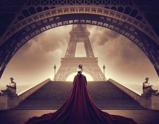 Ludovic BARON - Photography - Un roi face à la dame de fer