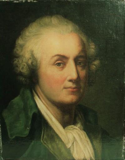 Jean-Baptiste GREUZE - Gemälde - Autoportrait