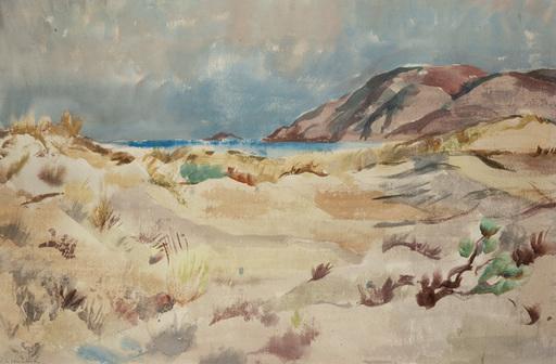 Willy EISENSCHITZ - Drawing-Watercolor - Meeresbucht