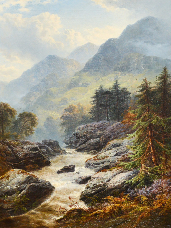 George Blackie STICKS - Gemälde