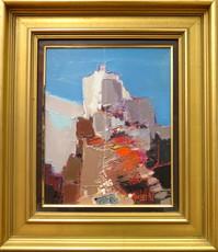 Michel NO - Painting - Les corbières