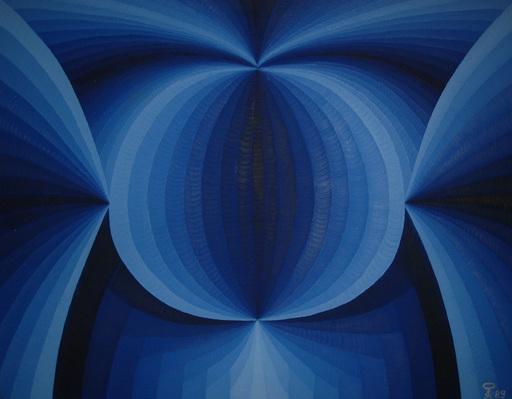 Steven KLUCHIK - Painting - Double Vision