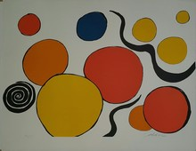 Alexander CALDER (1898-1976) - Boules, Rouge Et Jaune