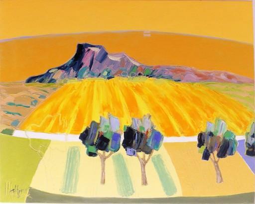 Jean-Pierre MALTESE - Pittura - Harmonie jaune