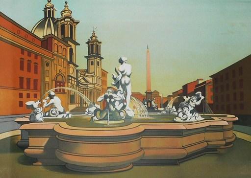 "Georges ROHNER - Print-Multiple - ""Roma"""