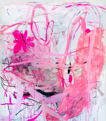 Macha POYNDER - Painting - When fate gets tired of waiting (Abstract Expressionism pain