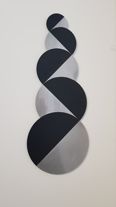 Norman DILWORTH - Sculpture-Volume - Zig-Zag Circular