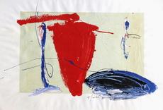 Tony SOULIÉ - Pintura - Composition