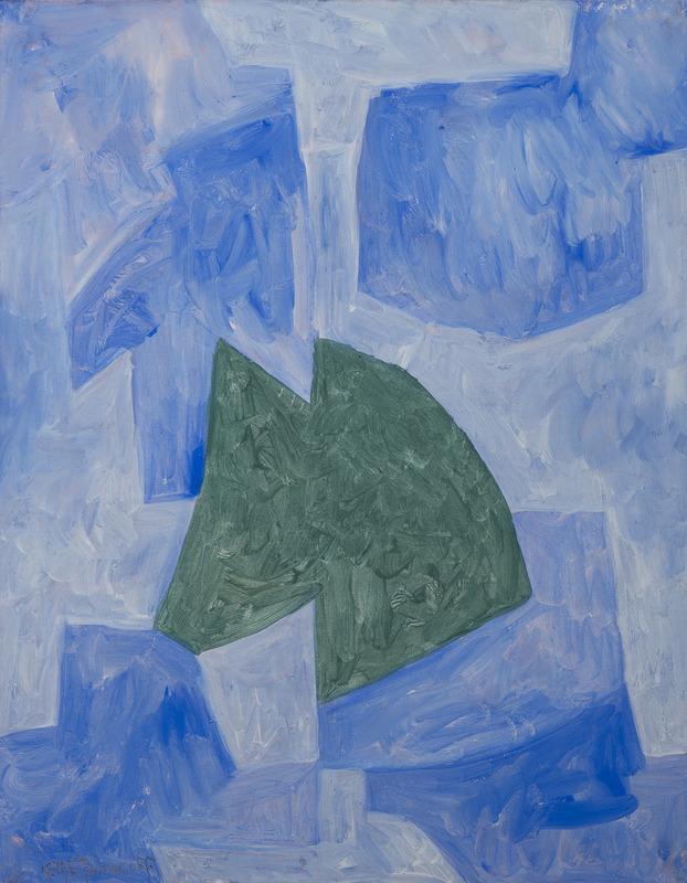 Serge POLIAKOFF - Disegno Acquarello - Composition abstraite