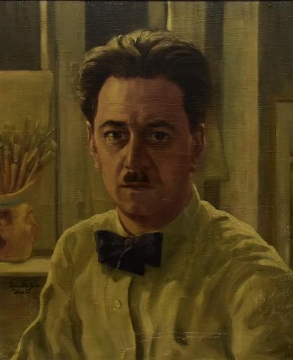 Egon STOITZNER - Painting - Porträt