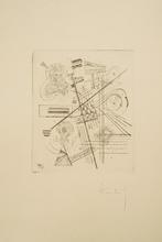 Wassily KANDINSKY - Estampe-Multiple - Fünfte Jahresgabe für die Kandinsky-Gesellschaft