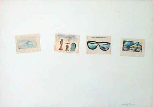 Franco ANGELI - Painting - Senza titolo