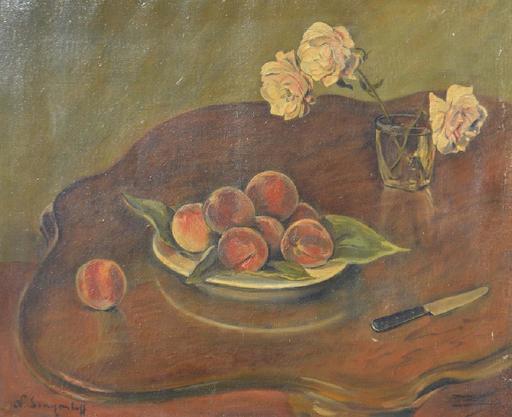 Nicolas SINEZOUBOFF - Painting - Still-life