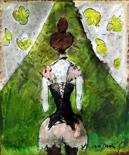Franco ROGNONI - Painting - La guepierre