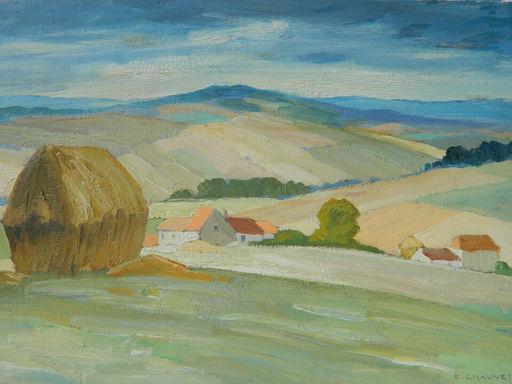 Edmond CHAUVET - Painting - PAYSAGE - PAESAGGIO