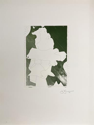 Jasper JOHNS - Druckgrafik-Multiple - Green Angel