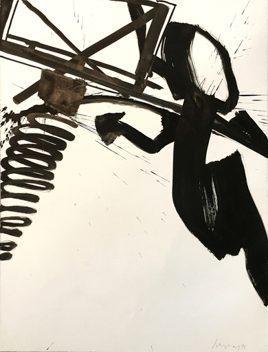 Kurt Rudolf H. SONDERBORG - Dibujo Acuarela - Ohne Titel