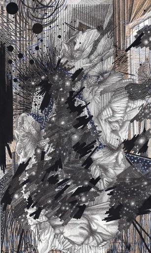 Sandra GHOSN - Zeichnung Aquarell - La magie