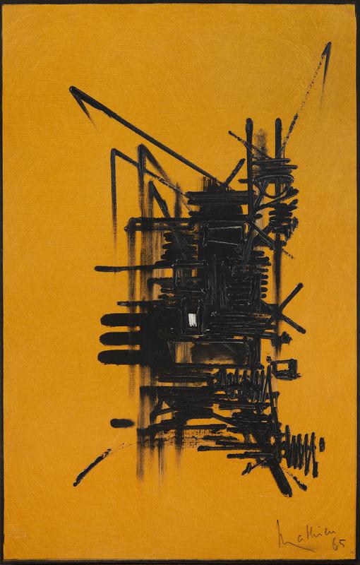 Georges MATHIEU - Peinture - Raguenni