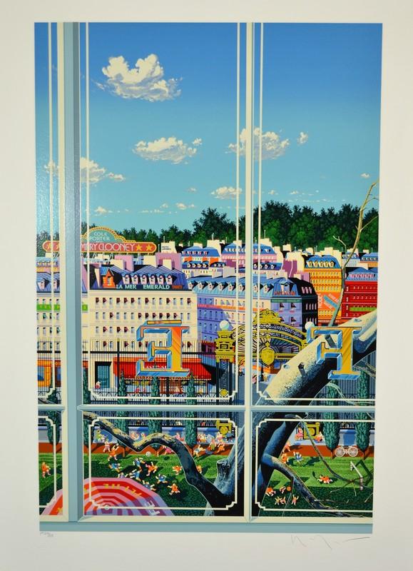 山形浩生 - 版画 - *Park Monceau