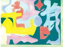 Elissa DORFMAN - Painting - Computer Landscape A